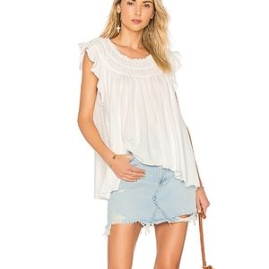 Free People Coconut Tee size M